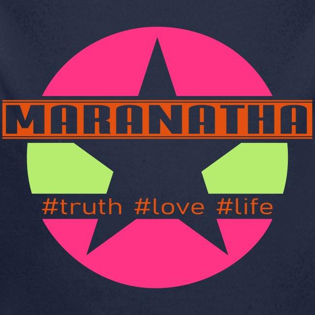 maranatha rosa-grün