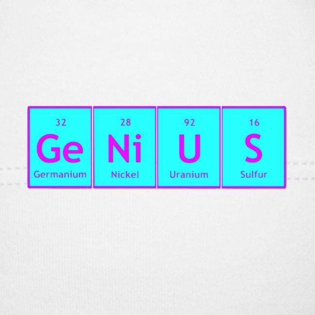 GENIUS T-SHIRT UNISEX