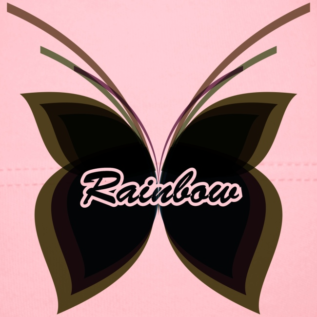 Black Butterfly Rainbow