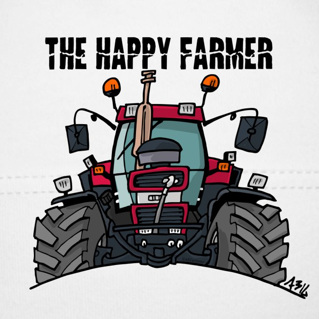 the happy farmer red