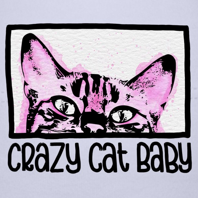 Crazy Cat Baby Girl