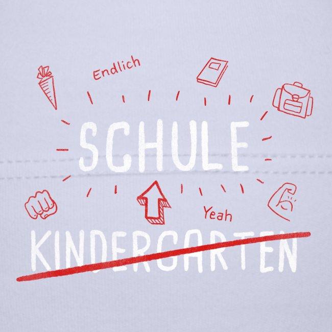 Endlich Schule Bye Kindergarten Mädchen Jungen