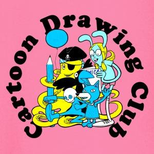 Cartoon Tekening Club - T-shirt
