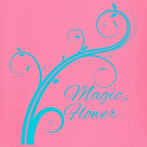 Magic Flower blue - Baby Long Sleeve T-Shirt