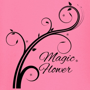 Magic Flower black - Baby Long Sleeve T-Shirt