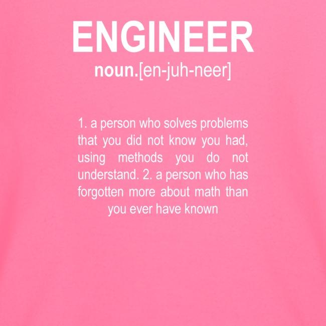 """""""Engineer"""" Def. 2"""