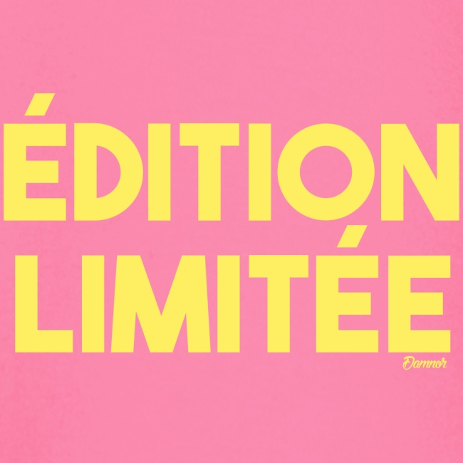 Edition limitée (F)