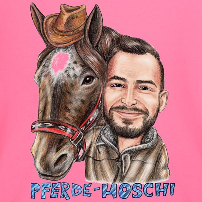 Hoschi-Karikatur forne