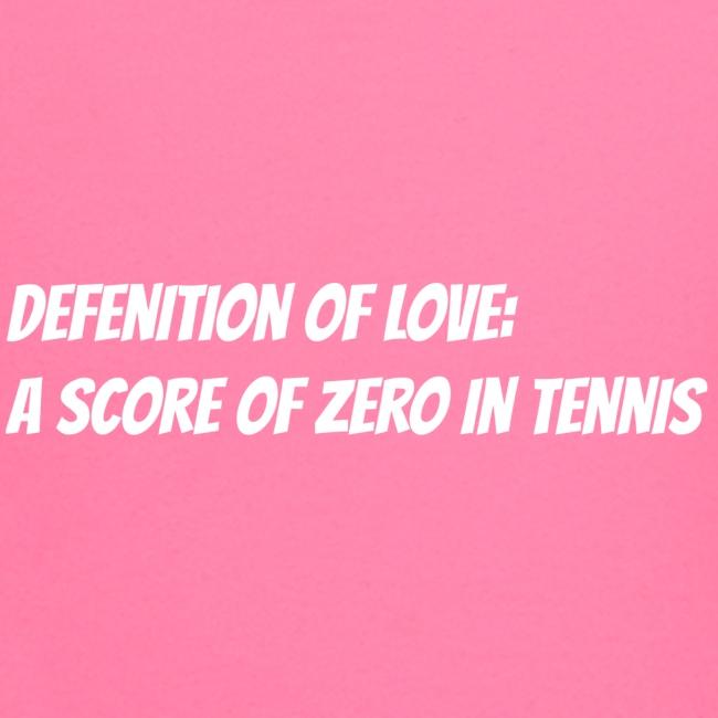 Tennis Love sweater men