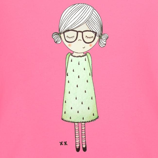 meisje met bril