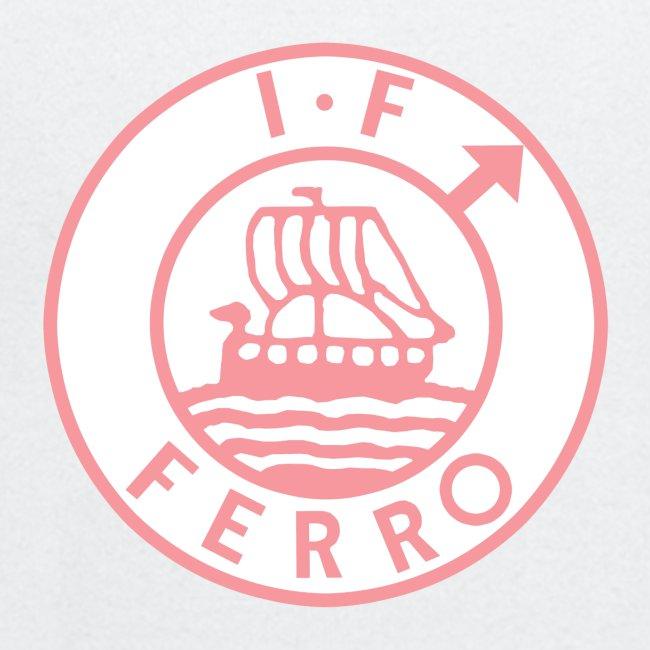 big logo Ferro pink png