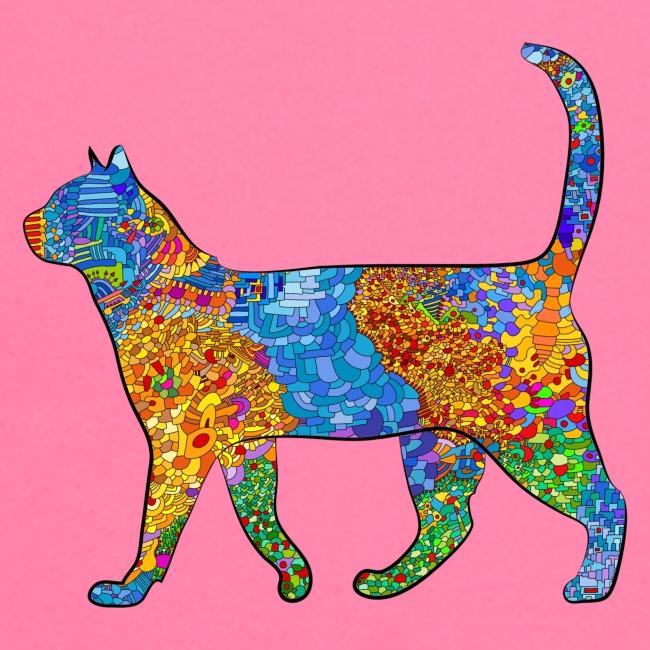 The elegant cat goes palante ...