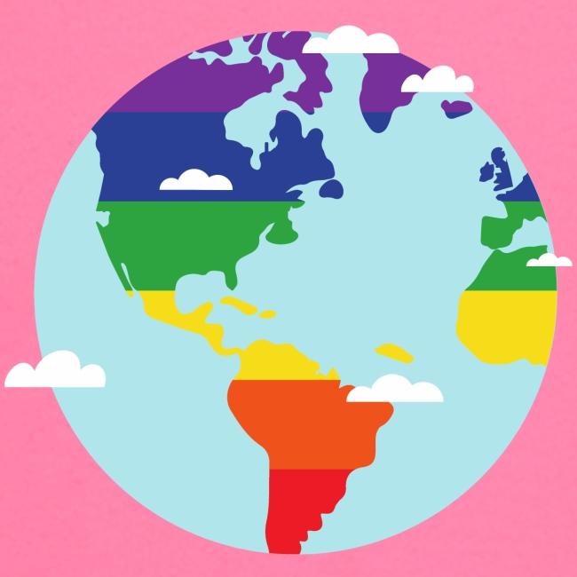 Erde   Regenbogen   LGBT   Amerika