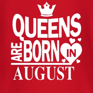 Birthday Shirt - Queens are born in AUGUST - Baby Langarmshirt