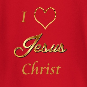 I love Jesus- Christ Shirt and baby items - Baby Long Sleeve T-Shirt