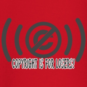 copyrighisforlosers - Baby Long Sleeve T-Shirt