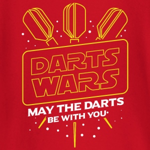 DARTS WARS - MAY THE DARTS BE WITH YOU - Baby Long Sleeve T-Shirt