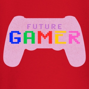 Pink Future Gamer Design by Juiceman Benji Gaming - Langærmet babyshirt