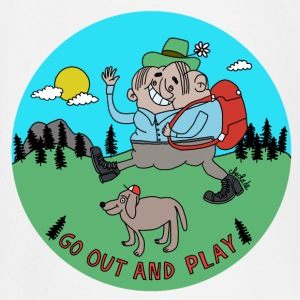 Go Out and Play by Cheslo - Baby Langarmshirt