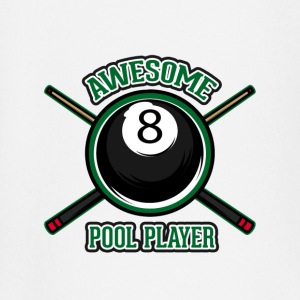 Awesome pool player - Baby Long Sleeve T-Shirt