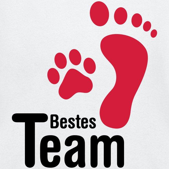 Vorschau: Bestes TEAM - Baby Langarmshirt