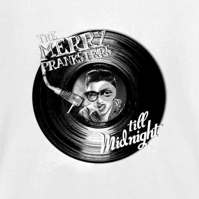 The Merry Pranksters Till Midnight - Black T-Shirt