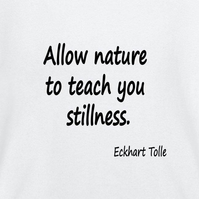 Nature for Stillness