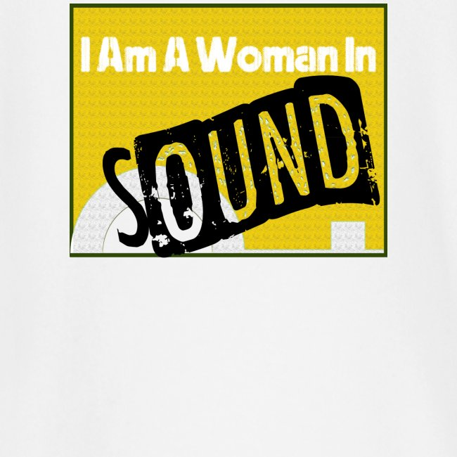 I am a woman in sound - yellow