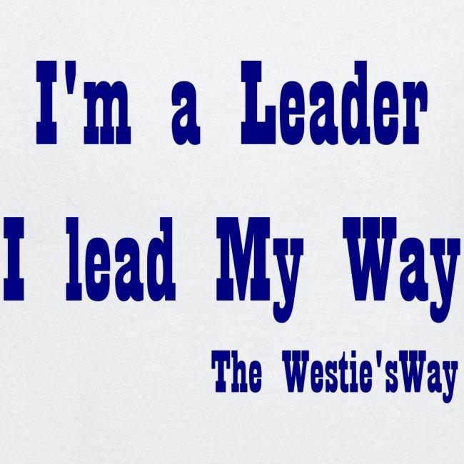 I lead My Way Blue
