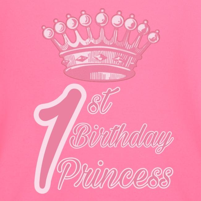 1st Birthday Princess