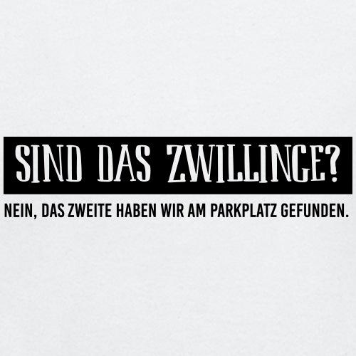 BIO Stoffbeutel: Sind das Zwillinge? - Baby Langarmshirt