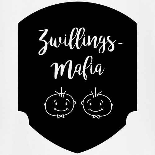 Zwillings-Mafia: Bub-Bub mit Hintergrund - Baby Langarmshirt