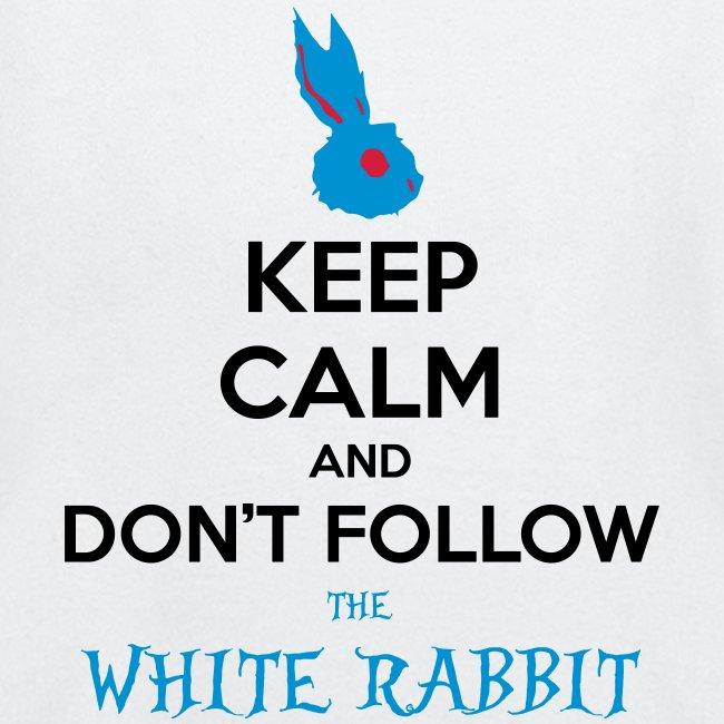 White Rabbit Keep Calm
