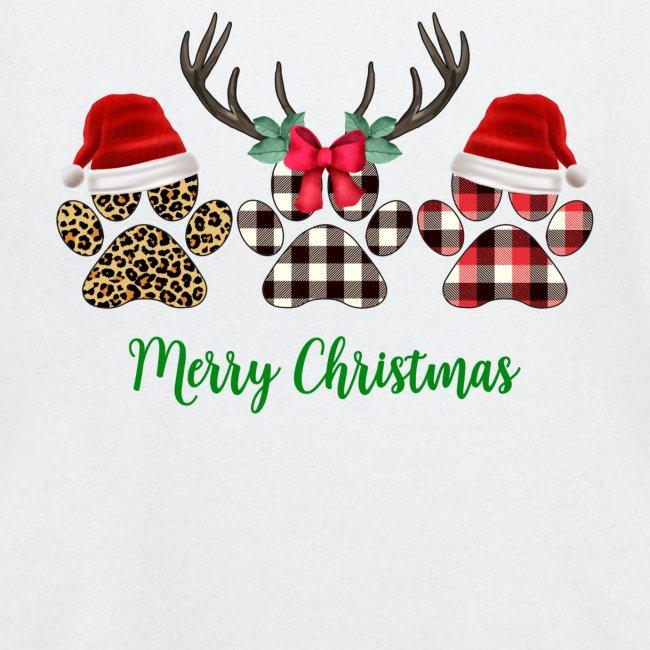 Merry Christmas Paw