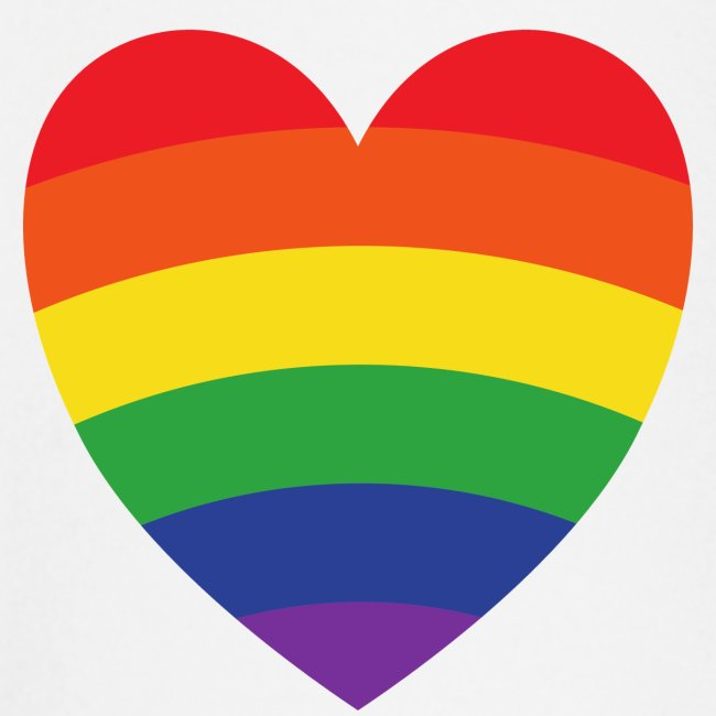 Regenbogenherz   LGBT   Geschenkidee