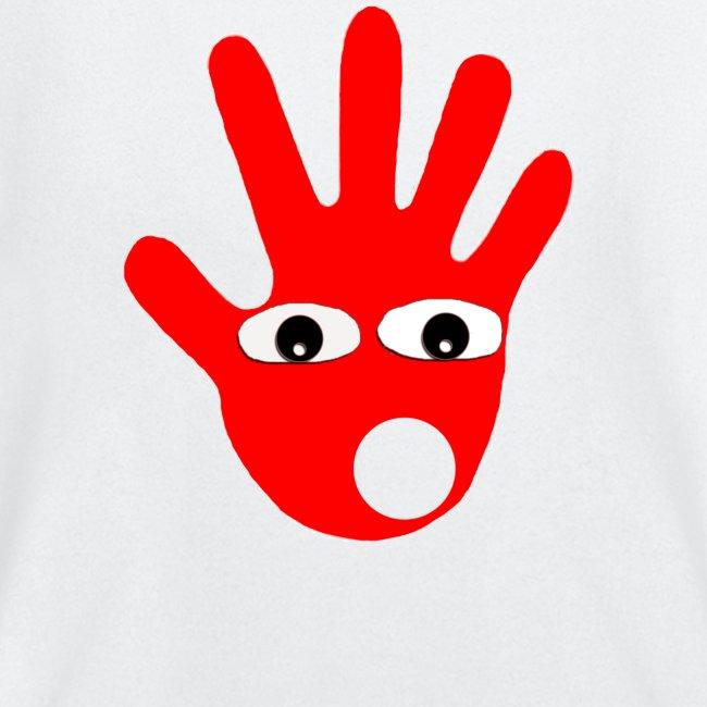Hände mit Augen