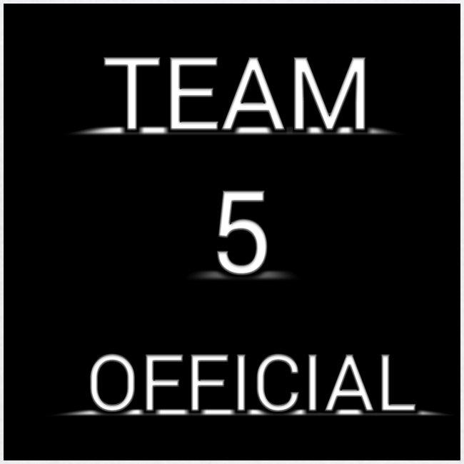 Team5 official 1st merchendise