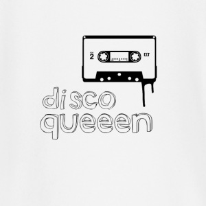 disco queen vintage cassette illustration woman gir - Baby Long Sleeve T-Shirt