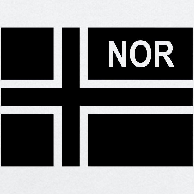 Norwegian Tactical Flag Norway -Norge - NOR