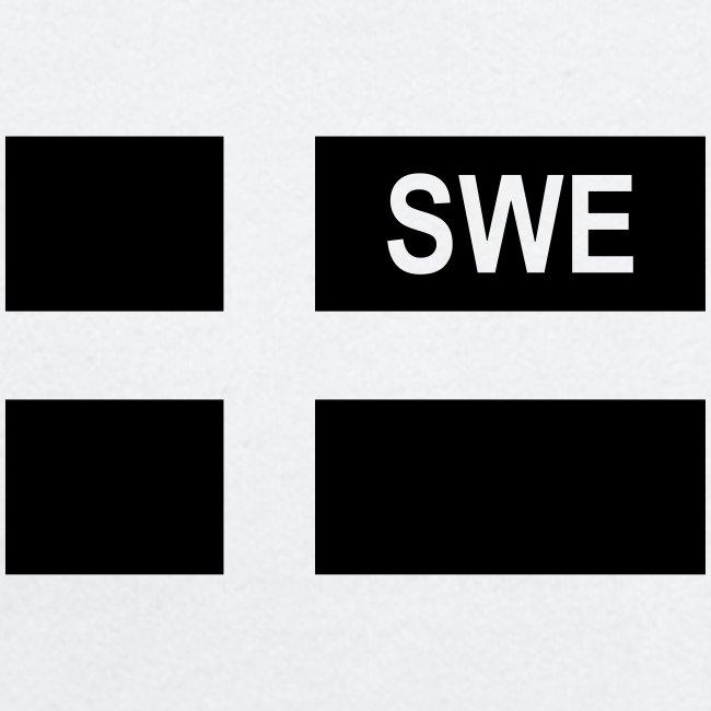 Swedish Tactical flag Sweden - Sverige - SWE