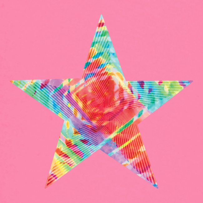 Color star of david
