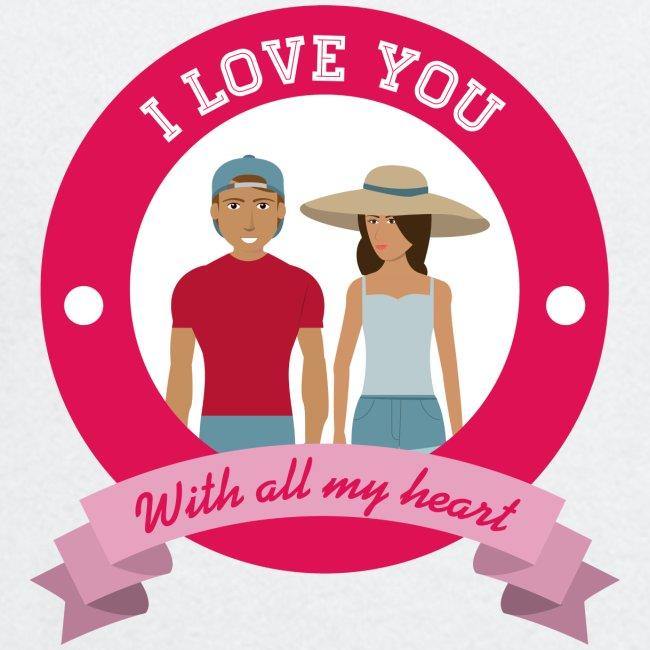 I love you tasse