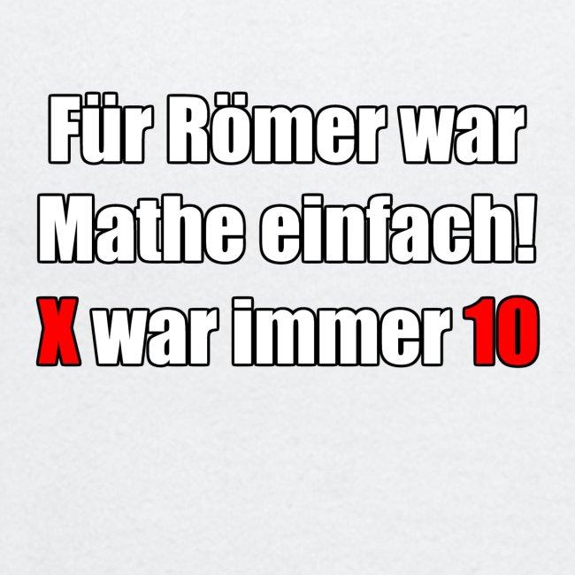 Römer Mathe
