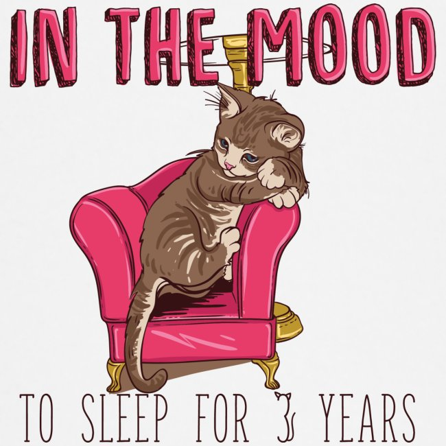 In the mood to sleep for 3 years Cat