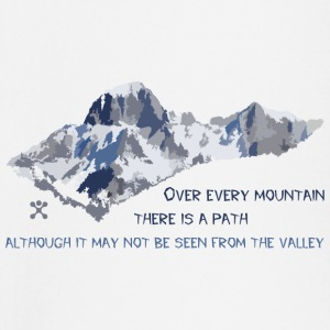 Over all the mountains ... - Baby Long Sleeve T-Shirt