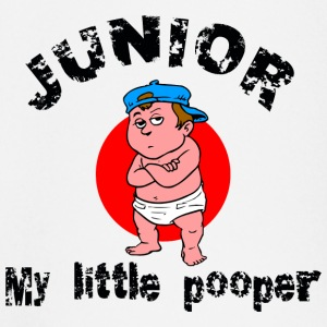 Funny Kid's Junior My Little Pooper - Baby Long Sleeve T-Shirt