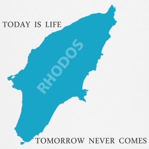 Rhodes, Today is life - Baby Long Sleeve T-Shirt