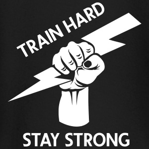 train hard - stay strong - Baby Langarmshirt