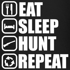 Eat sleep hunt - Hunter - Hunting - Baby Long Sleeve T-Shirt
