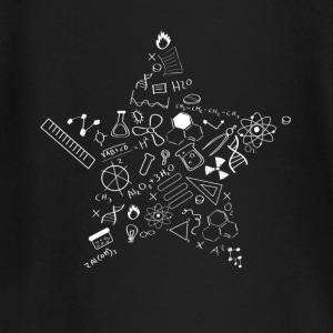 nerd star pi Physics Math Symbols Icon fu - Baby Long Sleeve T-Shirt